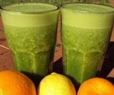 Recipe Cancer Crusher Green Smoothie by Kristine - Recipe of category Drinks