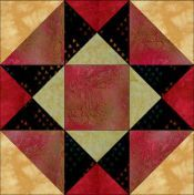 Great site for free quilt block patterns, instructions and sample quilts.