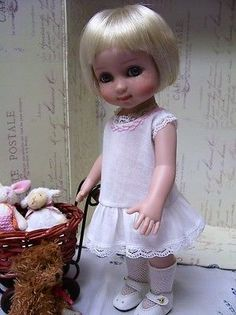 "Tonner Patsy, Ann Estelle Sailor Dress Pattern, Hat, Slip, Panties, 10"" Doll"