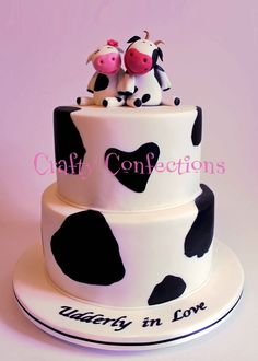 2 tier cow printed cake | IMG_1998 resized 2 tier cow print cake