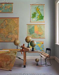 love the old school house maps. #versiebyanniem