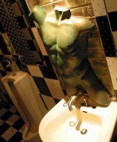 Strange bathrooms on pinterest toilets swarovski and nina campbell