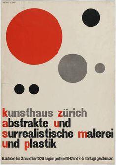 Hans Arp, Zürich 1929