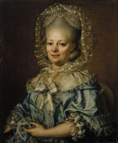 """Pasch, Ulrica Fredrica:  Portrait of Catharina Charlotta L'Estrade, 1780"""