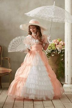 """""""Shop Chasing Fireflies for our Peachy Southern Belle Costume for Girls. Browse our online catalog for the best in unique children's costumes, clothing and more. Formal Dresses For Weddings, Prom Dresses, Wedding Dresses, Southern Belle Costume, Girls Special Occasion Dresses, Disney Princess Dresses, Wedding Dress Sleeves, Unique Dresses, Girl Costumes"""