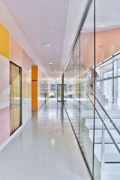 Pajol Sports Centre By Brisac Gonzalez Architects | Fuzito