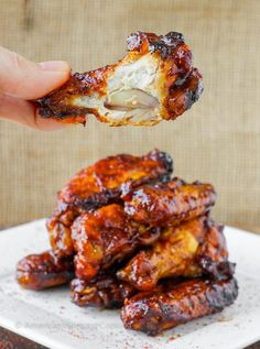 Juicy, tender Chipotle Maple Baked Chicken Wings are rubbed in a dry spice rub then baked to crisp perfection before being tossed in a Chipotle Maple sauce that will have you licking your fingers. Cooking Chicken Wings, Baked Chicken Wings, Chicken Wing Recipes, Maple Chicken, Chicken Breasts, Easy Soup Recipes, Dinner Recipes, Cooking Recipes, Yummy Recipes