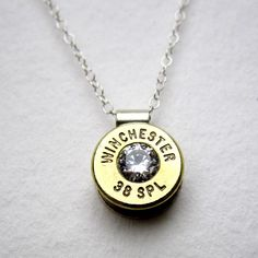 38 Special Charm Necklace with Swarovski Crystal