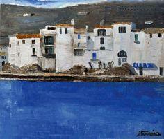 Ignacio Iturria (b. 1949)   Cadaqués, 1998