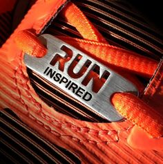 RUN INSPIRED Shoe Tag Running Gifts, Hard Work And Dedication, Triathlon, Timberland Boots, Marathon, Designer Shoes, Athlete, Leather Necklace, Pink Leather