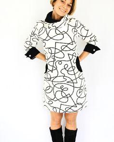 Patron L'Aristo version robe / La Jolie Girafe ODV