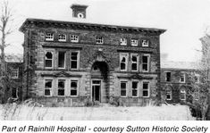 Old Asylum Records | ... Helens | History of Old Sutton in St.Helens | Sutton Beauty & Heritage