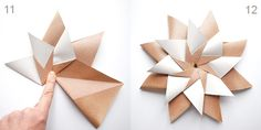 Seraphina´s Phantasie: Anleitung Origami Star Mandala Carla