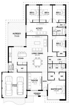 ❤ 5 beds Grand 17 floorplan