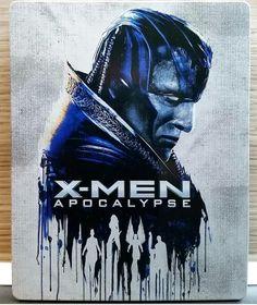 "Steelbook Bluray ""X-Men Apocalypse"""