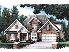 Eplans New American House Plan - Please the Entire Family - 1874 Square Feet and 4 Bedrooms(s) from Eplans - House Plan Code HWEPL07843