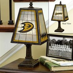 Anaheim Ducks Art-Glass Table Lamp