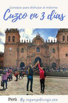 Qué ver en Cuzco en 1, 2, o 3 días. Mal de altura, alojamiento y planning con ruta día por día. ¿Preparad@ para recorrer una de las ciudades mas bonitas de Perú? #viajar #viajes #tipsviaje #viajaportucuenta #latinoamerica #peru #cuzco Peru Tourism, Peru Travel, Travel Blog, Machu Picchu, Bolivia Peru, Backpacking Peru, Peru Culture, Canyon Lake, Travel