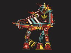 Adidas T-shirt concept designs. Adidas Originals - Star Wars by Petros Afshar