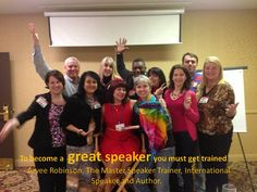 If you want to be a great speaker, you must get trained. Like any other profession, the more training you receive, the better you are. Join me for my next 4-day Superstar Speaker Training Intensive and rock the stage! http://arveerobinson.com/training/speaker-training-intensive/