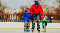 Grab your skates and get ready for some fun with these five outdoor skating rinks.