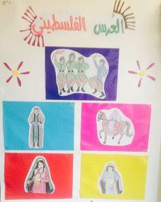 وسيلة تعليمية للأطفال عن العرس الفلسطيني (صورة فقط)
