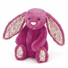 Jellycat Small Rose Pink Blossom Bunny £12 @ www.melburygallery.co.uk/shop/jellycat/ xx