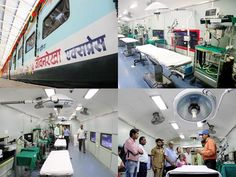 Slideshow : World's first hospital-train - India's Lifeline Express: World's first hospital-train | The Economic Times