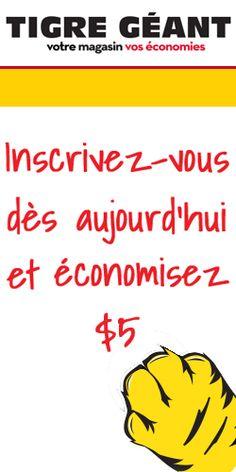 Coupon de 5 $ pour Tigre Géant.  http://rienquedugratuit.ca/coupons/coupon-de-5-pour-tigre-geant/