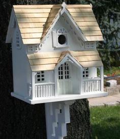 Victorian+cottage+birdhouses | ... ' Fully Functional Luxurious Sleepy Hollow Cottage Birdhouse Supplier