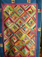 string quilt with border