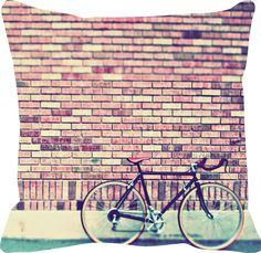 Resultado de imagem para almofada bicicleta paisagem
