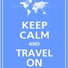 I want to travel the world someday.