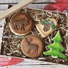 Moose and deer cookies