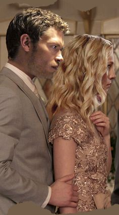 Klaroline (Joseph Morgan and Candice Accola) love them!!! They should have hooked up!