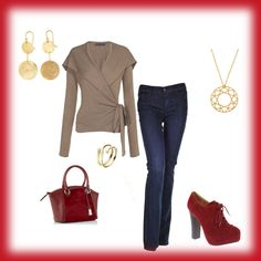"""""""Casual Fall Night Out"""" by wick on Polyvore"""