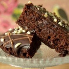 Süffige Brownies mit Schwarzbier