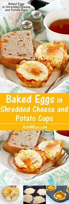 Baked Eggs in Shredd