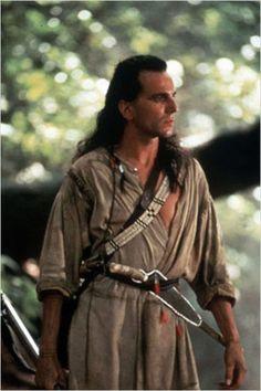 Le Dernier des Mohicans : photo Daniel Day-Lewis, Michael Mann