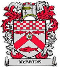 McBride family crest    here it is, for over the fireplace!