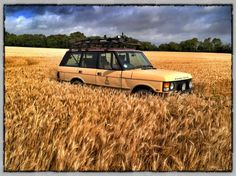 Range Rover Classic... Range In The Corn...1st love