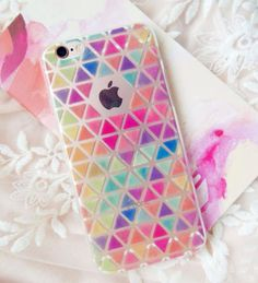 Cute-Clear-Transparent-Soft-Back-Pattern-Case-Cover-For-iPhone-5S-5C-6-6S-PLUS