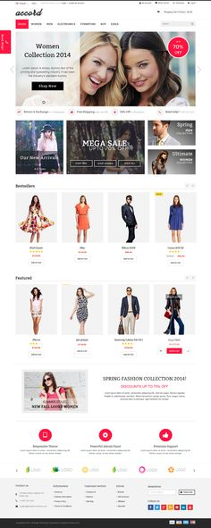 Accord is a responsive multipurpose OpenCart theme which is fully customizable and suitable for any kind of #OpenCart #store on any device.  #inspiration #fashion #webdesign