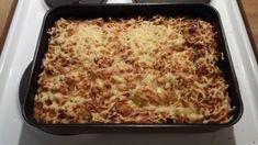 Härkismakaronilaatikko - Kotikokki.net - reseptit Lasagna, Macaroni And Cheese, Ethnic Recipes, Food, Mac And Cheese, Essen, Meals, Yemek, Lasagne