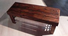 How to Build a Bench for Dining Room Table