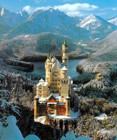 Alemania, Schloss Neue Schwanstein