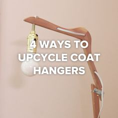 4 Ways To Upcycle Coat Hangers // #upcycle #hangers #diy #craft #home #decoration # Nifty