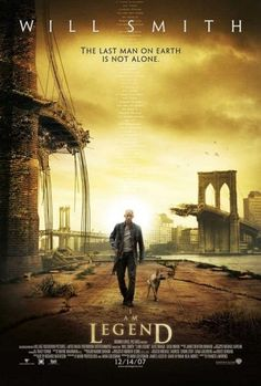 Directed by Francis Lawrence.  With Will Smith, Alice Braga, Charlie Tahan, Salli Richardson-Whitfield. Years after a plague kills most of humanity and transforms the rest into monsters, the sole survivor in New York City struggles valiantly to find a cure.