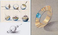 Zeichnen - Räumliches Darstellen von Schmuck und Gerät | GZ Online - Goldschmiede Zeitung