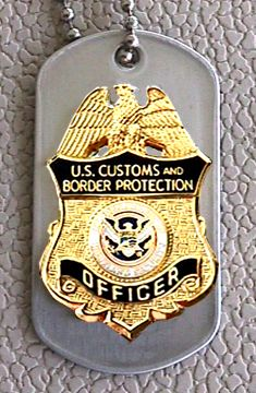 US Customs dogs   ... Customs on Homeland Security Dhs Cbp Us Customs Officer Dog Tag